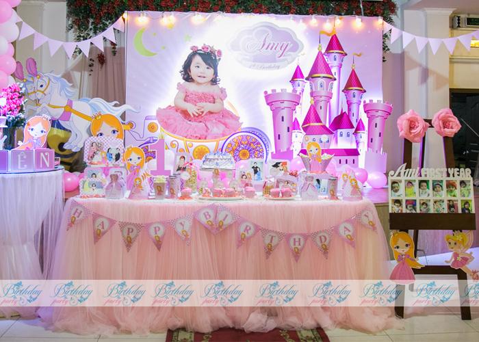 Trang trí sinh nhật - chủ đề công chúa