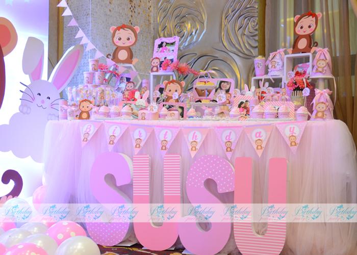 Tổ chức thôi nôi cho bé gái Susu 2