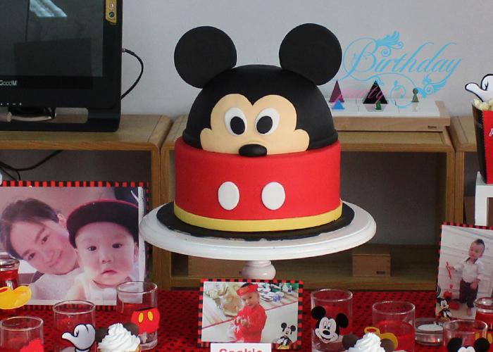 Bánh kem sinh nhật chủ đề mickey