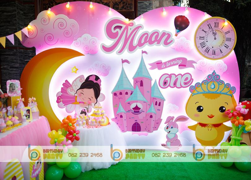 Trang trí sinh nhật chủ đề Moon